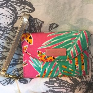Lilly Pulitzer wristlet, wallet